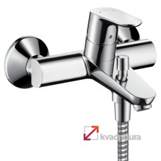 Смеситель для ванны Hansgrohe Focus 31940000