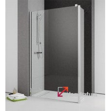 Душевая кабина Radaway Eos II Walk-in 80 L левая 3799500-01L