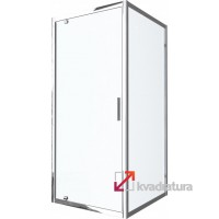 Душевая кабина Am.Pm Like Square W80G-303-090MT
