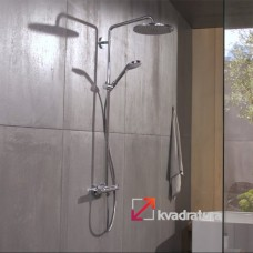 Душевая система Hansgrohe Croma Select 280 Air 1jet Showerpipe 26790000 с термостатом