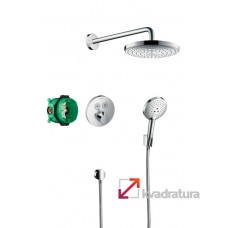 Душевая система Hansgrohe Raindance Select S / ShowerSelect S 27297000 с термостатом