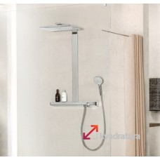 Душевая система Hansgrohe Rainmaker Select 460 3jet Showerpipe 27106400 с термостатом