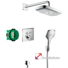 Душевая система Hansgrohe  Raindance Select E / ShowerSelect 27296000 с термостатом