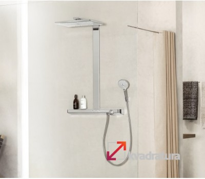 Душевая система Hansgrohe Rainmaker Select 460 2jet Showerpipe 27109400 с термостатом